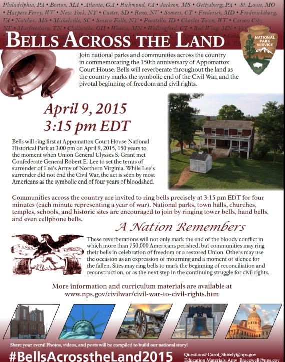 Bells Across the Land 2015