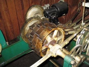 chiming mechanism drum