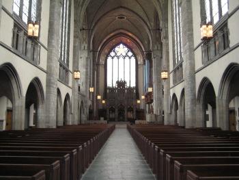 Rockefeller Chapel interior