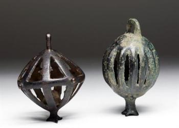 Luristan Bronze Bells, ca. 1000-800 BCE