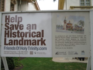 Save the Louis H. Sullivan cathedral!